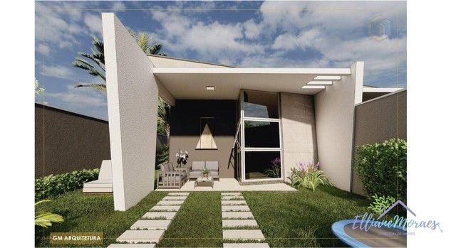 Casa com 3 dormitórios à venda, 103 m² por R$ 295.000,00 - Timbu - Eusébio/CE - Foto 3