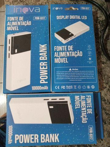 Carregador portátil inova 10.000mah 3 USB - Foto 5