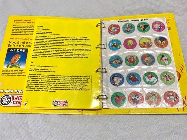 Álbum Livro Ilustrado Tazos Elma Chips - Foto 5