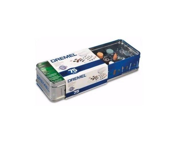 Kit de Acessórios para retifica uso geral com 75 peças 26150707AC Dremel - Foto 2