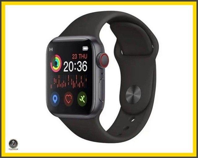 Relogio Inteligente Smartwatch Iwo Max T500 44mm  - Foto 4