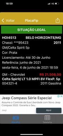 Chevrolet Celta Spirit 2010/2011  - Foto 5