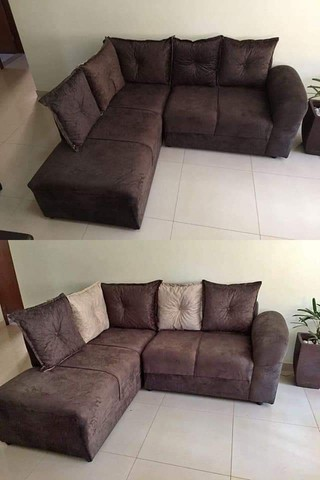 Sofa de canto Larissa direto da fabrica - Foto 4