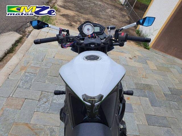 Kawasaki Z 750 2010 Branca com 64.000 km - Foto 11