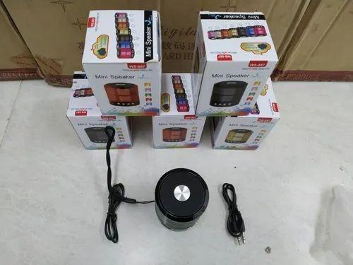 Mini Caixa De Som Portátil Speaker Ws-887  - Foto 4