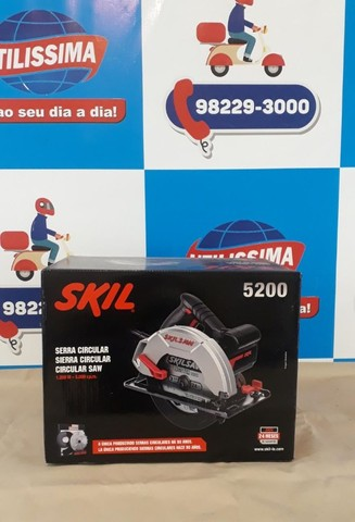 Serra Circular Manual Elétrica Skil 5200 ? Entrega grátis - Foto 3