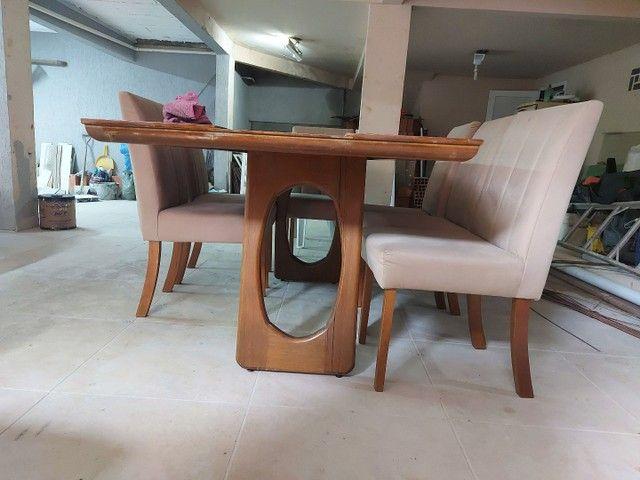 Mesa 8 lugares com cadeiras  - Foto 3