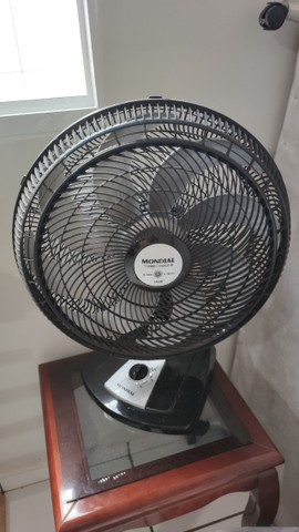 Ventilador de Mesa Mondial VTX-50-8P Preto - 50 cm