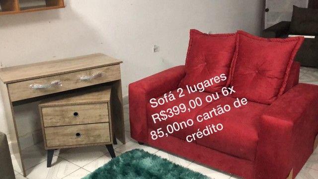 Sofaa novos peças avulsa apartir  de 399 - Foto 2