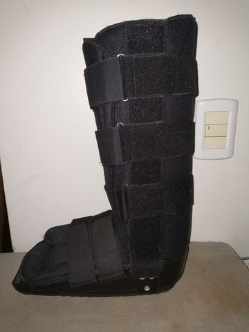 Bota imobilizadora longa - tamanho G, marca Dilepé