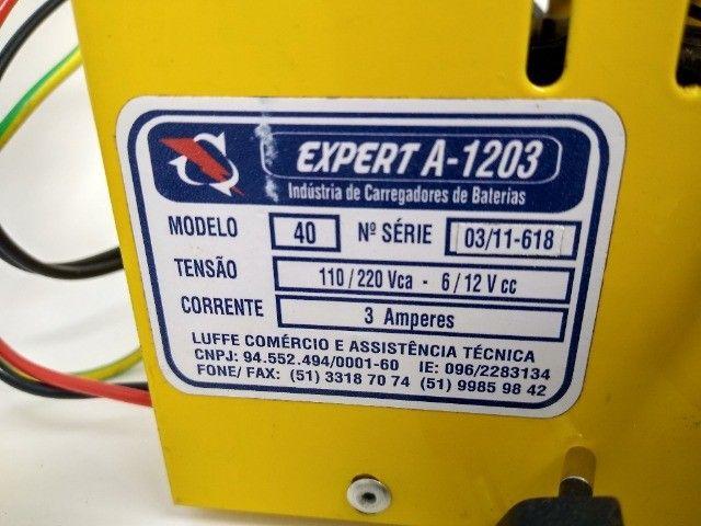 Carregador de Bateria Luffe 12v 3Ah - Foto 4