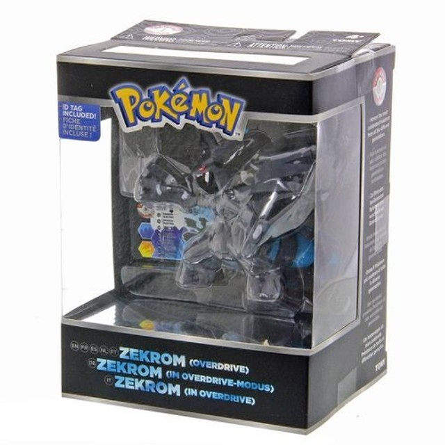 Boneco Pokémon Lendário Zekrom Tomy 10cm
