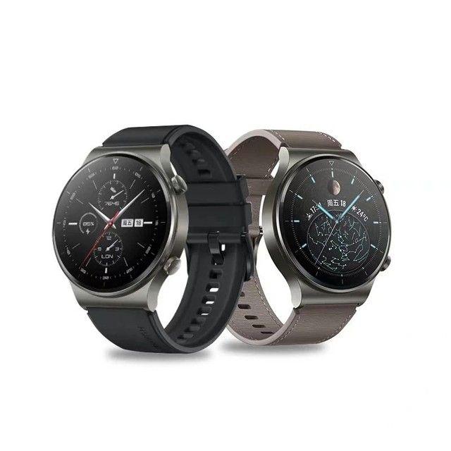 Huawei watch Gt2 Pro , oxímetro Spo2,gps, vidro de safira + Titânio, smartwatch  - Foto 5