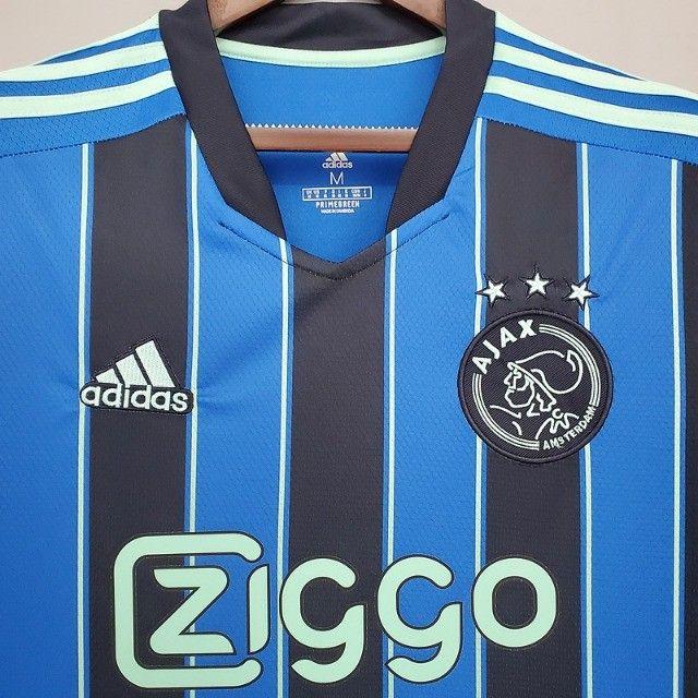 Ajax  Lançamento 2021 David Neres Antony Holanda Frete Grátis Personalização  - Foto 5