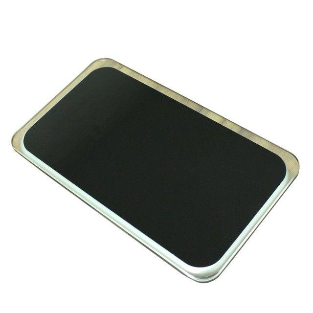 Balança Corporal Digital Vidro Temperado Preta Até 180kg,NOVA/ACEITO TROCAS - Foto 3