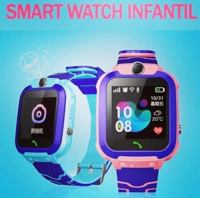 Relógio Smartwatch Infantil Com Gps - Até 6x sem juros!