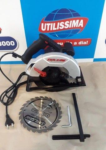 Serra Circular Manual Elétrica Skil 5200 ? Entrega grátis - Foto 6