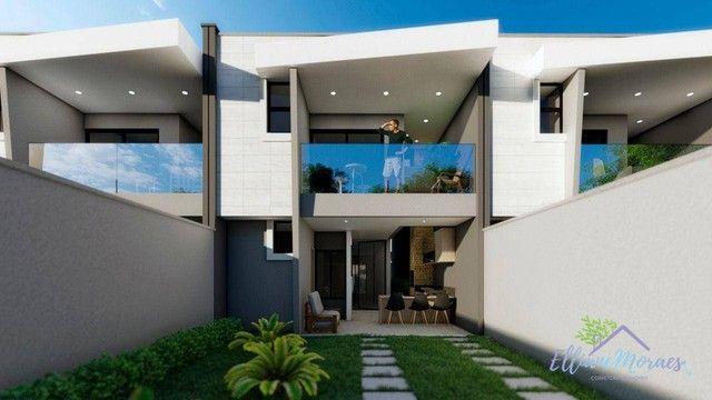 Casa com 4 dormitórios à venda, 137 m² por R$ 440.000,00 - Urucunema - Eusébio/CE - Foto 2