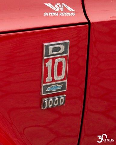 Chevrolet C10 Diesel - Ano: 1974 - Raridade - Foto 10