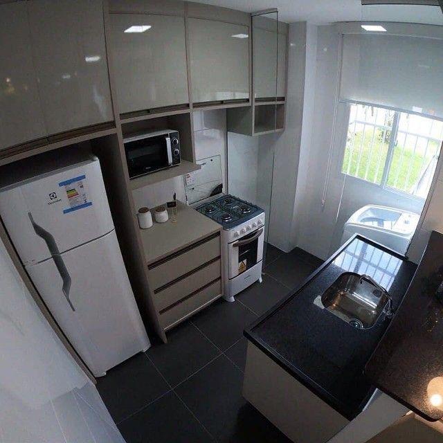 Apartamentos 2 quartos 42m com elevador no planalto | Vista das copaibas - Foto 4