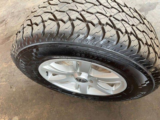 Jogo de rodas e pneus aro 17 Amarok  - Foto 5