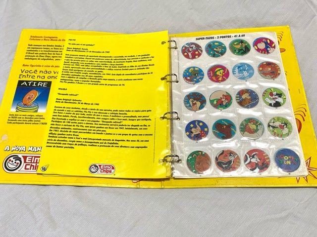 Álbum Livro Ilustrado Tazos Elma Chips - Foto 4