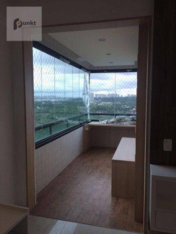 Apartamento com 4 dormitórios para alugar, 195 m² por R$ 7.000/mês - Ponta Negra - Manaus/ - Foto 11
