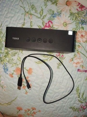 Alto-falante Tedge Bluetooth 6W portátil preto 110V/220V<br><br><br> - Foto 4