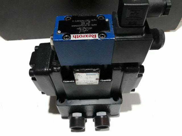Válvula Direcional Rexroth +Bloco monofodio para Máquinas e Equipamentos hidráulicos  - Foto 5