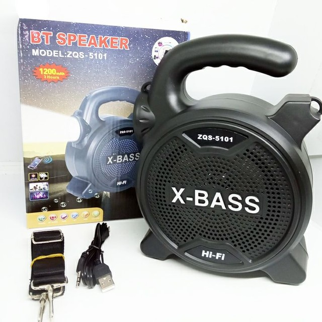 Som Bluetooth X-BASS ZQS-5101