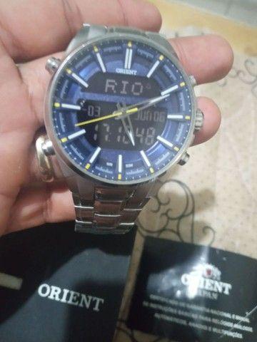 Vendo relógio orient R$- 700.00  - Foto 2