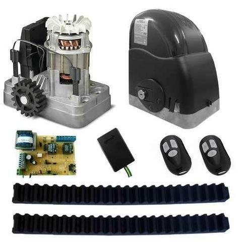 Kit Motor Para Portão Eletrônico Deslizante Sld 1/4 RCG 400 kls e um ano de garantia