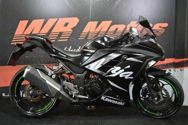 Kawasaki Ninja 300 Abs 2017 Motos Vila Nova Conceição São