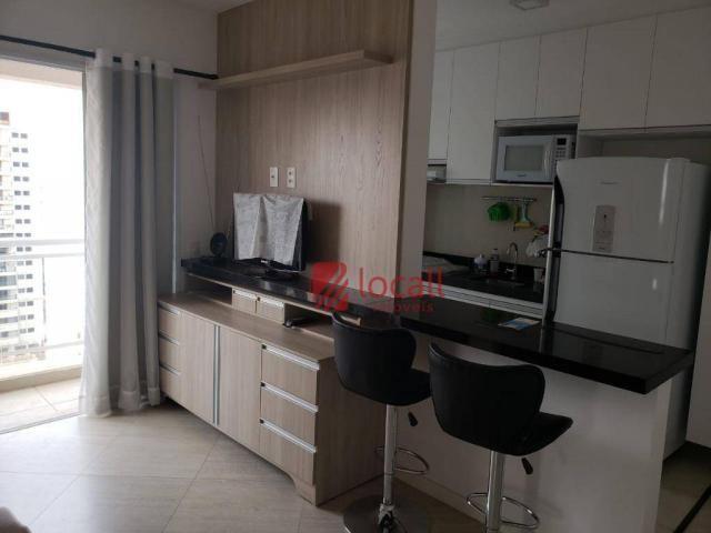 Apartamento com 1 dormitório para alugar, 40 m² por r$ 1.500,00/mês - jardim novo mundo -