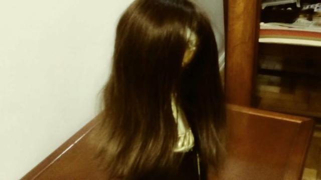 Peruca nova nunca usada de cabelo natural