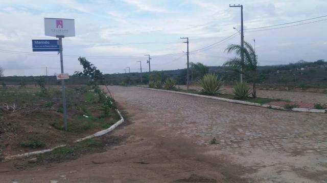 Terreno pronto pra construir - 12x22- Sinal de 2.500 + 150 mensais de 399 reais. Ligue - Foto 2