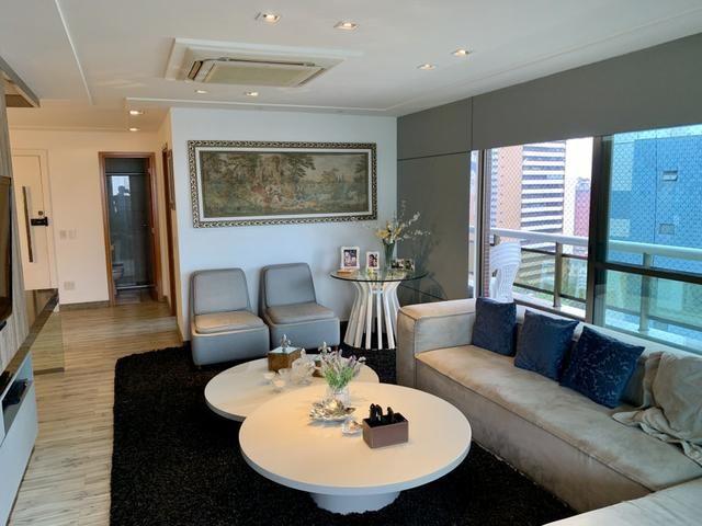 Apartamento para venda com 217 metros quadrados com 4 quartos em Meireles - Fortaleza - CE - Foto 2