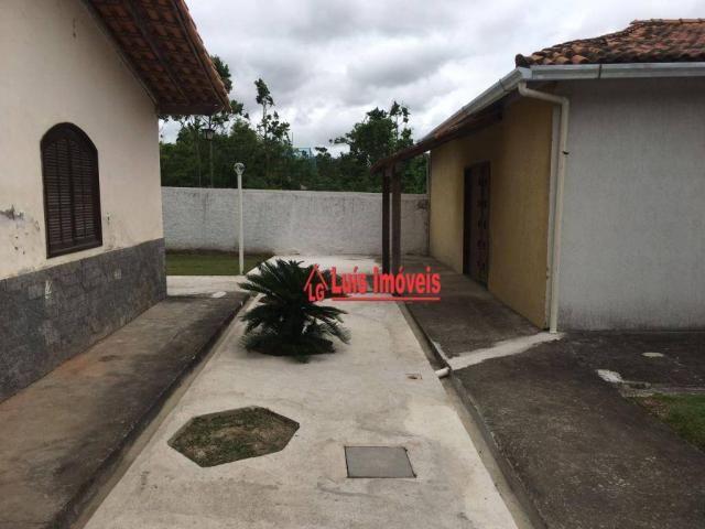 Sítio com 3 dormitórios para venda e locação, 3000m² - Inoã - Maricá/RJ - SI0009 - Foto 6