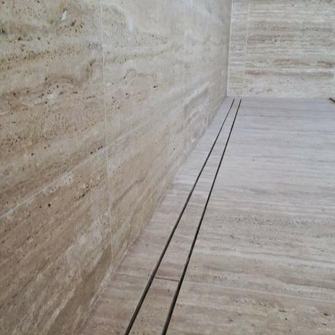 Ralo linear infinito 1 m x 6 cm Para Piscinas e Áreas externas - Foto 3