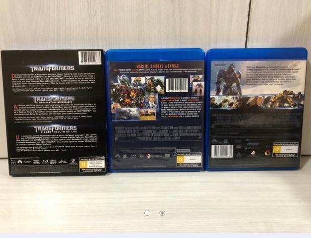 Coleção Completa Blu-rays Transformers - Foto 2