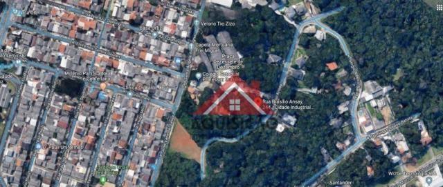 Terreno à venda, 1066 m² por r$ 530.000,00 - cidade industrial - curitiba/pr - Foto 3