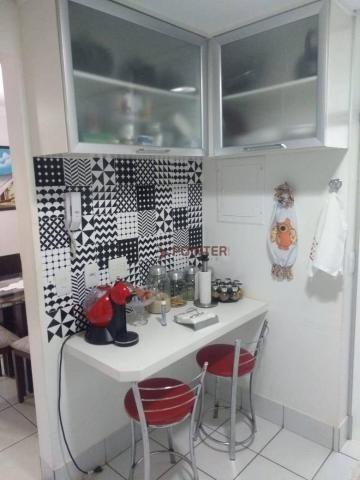 Apartamento com 3 dormitórios à venda, 92 m² por R$ 370.000,00 - Jardim Goiás - Goiânia/GO - Foto 8