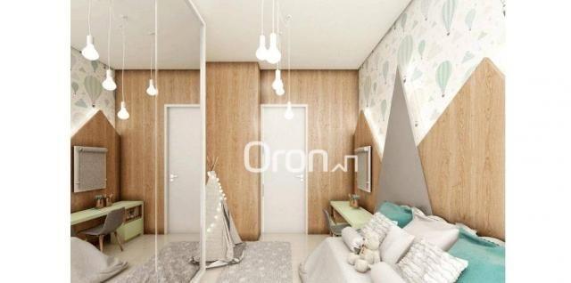 Apartamento com 2 dormitórios à venda, 56 m² por R$ 198.000,00 - Condomínio Santa Rita - G - Foto 7