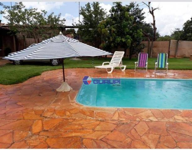 Chácara com 2 dormitórios para alugar, 1000 m² por R$ 2.200/mês - São Benedito da Capelinh - Foto 4