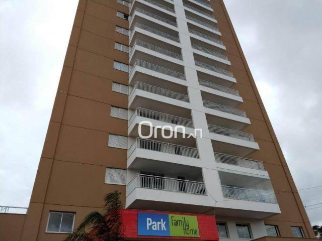 Apartamento com 3 dormitórios à venda, 94 m² por r$ 380.000,00 - parque amazônia - goiânia - Foto 2