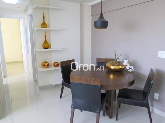 Apartamento com 2 dormitórios à venda, 55 m² por R$ 243.000,00 - Vila Rosa - Goiânia/GO - Foto 6