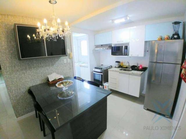 Apartamento com 2 dormitórios à venda, 70 m² por r$ 1.260.000 - meireles - fortaleza/ce - Foto 5