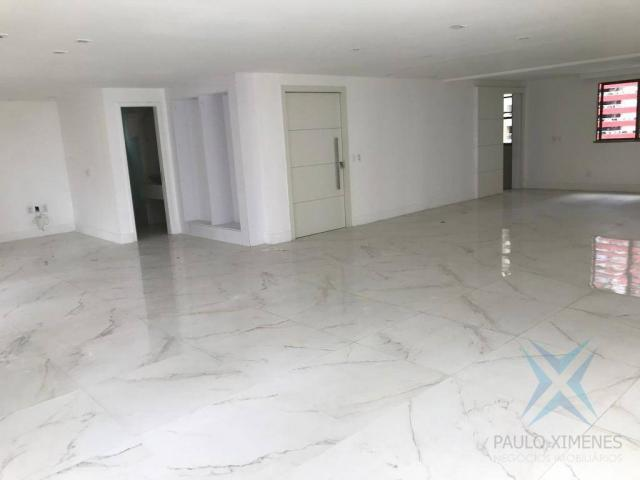 Apartamento com 4 dormitórios à venda, 357 m² por r$ 2.680.000,00 - meireles - fortaleza/c - Foto 8