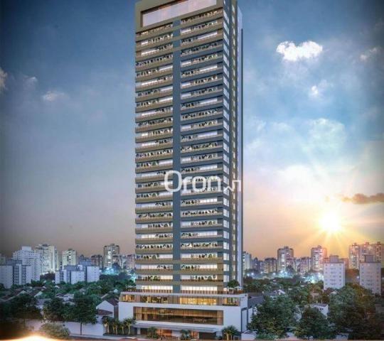 Apartamento com 4 dormitórios à venda, 440 m² por r$ 2.971.000,00 - setor marista - goiâni - Foto 2