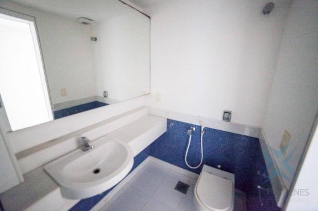 Apartamento vista mar com 4 dormitórios à venda, 352 m² por r$ 650.000 - antônio diogo - f - Foto 8